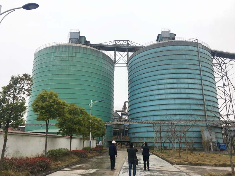 Clinker Cement Plants In Usa : Customer visit for clinker silo