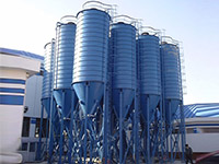 Hopper Bottom Steel Silo For Sale