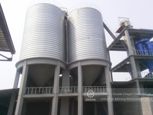Grain Steel Silo for Husk Storage