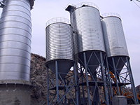 Bidragon Steel Silo For Ash Powder Storage