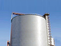 steel silo design for slag storage