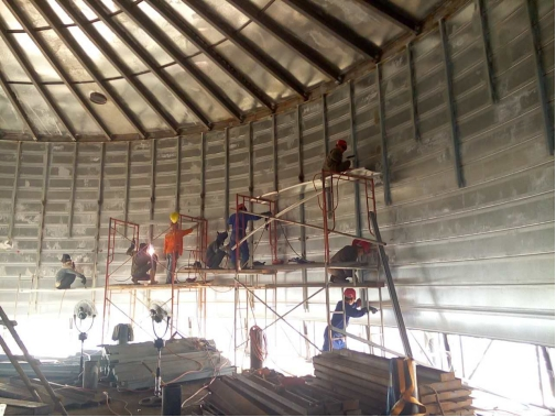 How To Build A Silo Spiral Steel Silo Installation Step